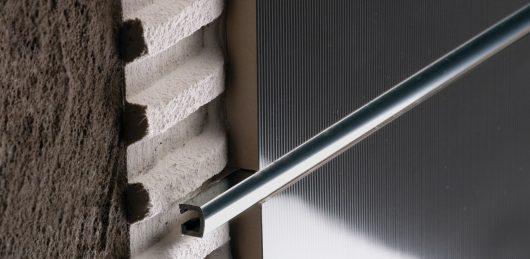 PU 10 хром вставка-делитель плитки